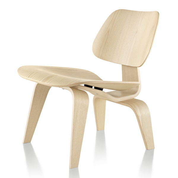 Eames® Molded Plywood Lounge Chair - Wood Base by Herman Miller