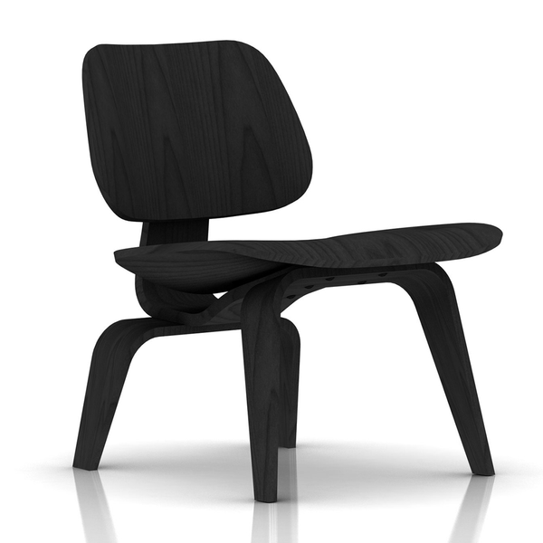 ... Herman Miller - Eames® Molded Plywood Lounge Chair - Wood Base - Lekker  Home ...