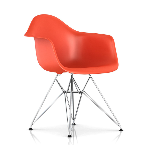 Herman Miller - Eames® Molded Plastic Armchair - Wire Base - Lekker Home - 1
