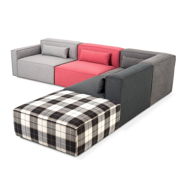 Gus Modern - Mix Modular 5 Piece Sectional - Lekker Home - 1