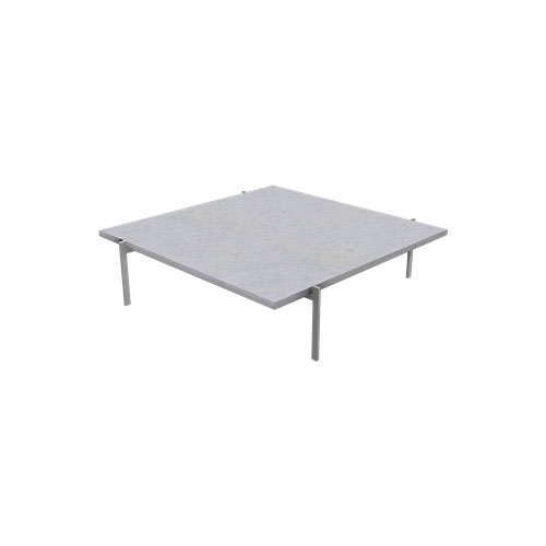 Fritz Hansen - PK61™ Coffee Table - Marble White Rolled / PK61A - Lekker Home