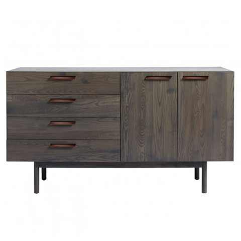 Blu Dot - Shale 4 Drawer/ 2 Door Credenza - Lekker Home