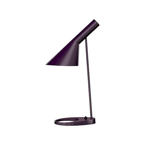 Louis Poulsen - AJ Table Lamp - Aubergine / One Size - Lekker Home