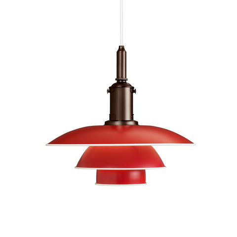 Louis Poulsen - PH 3-3 Pendant - Red / One Size - Lekker Home