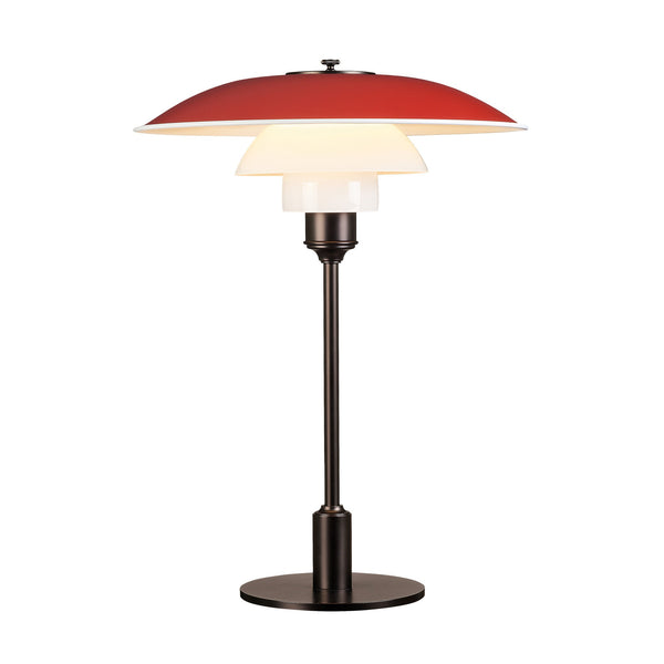 Louis Poulsen - PH 3-2 Table Lamp - Red / One Size - Lekker Home