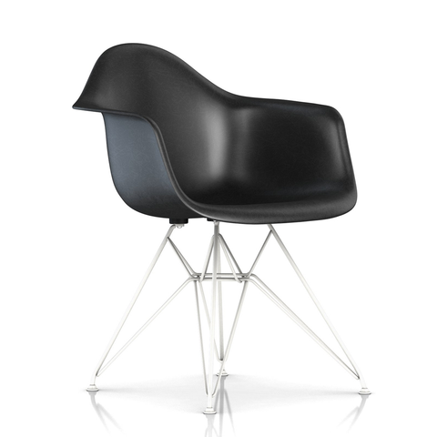 Herman Miller - Eames® Molded Fiberglass Armchair - Wire Base - Lekker Home