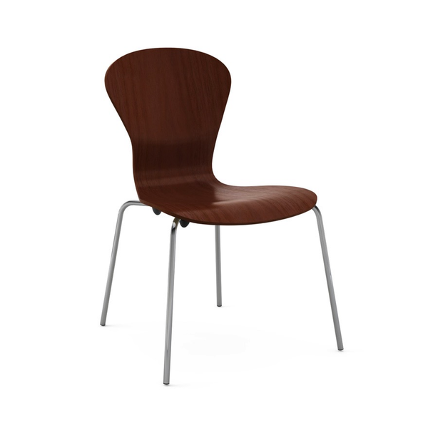 Knoll - Sprite Armless Stacking Chair - Lekker Home - 11
