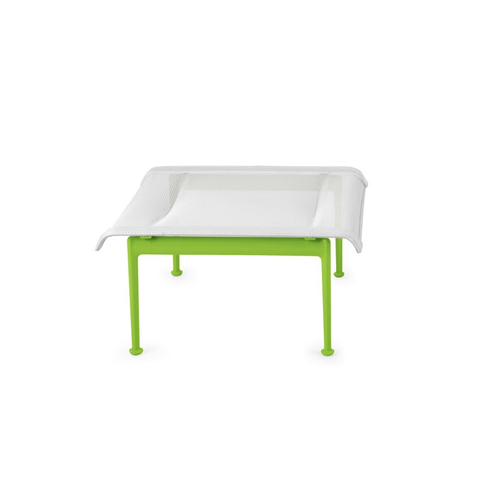 Knoll - 1966 Ottoman - Lime Green/White / One Size - Lekker Home