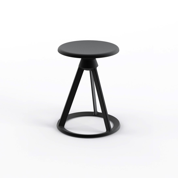 Knoll - Piton™ Fixed Height Stool Outdoor - Lekker Home - 7