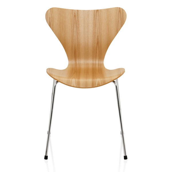 Fritz Hansen - Series 7 Side Chair - Wood - Cherry / One Size - Lekker Home