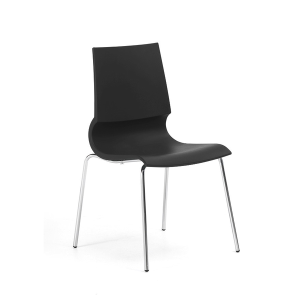 Knoll - Gigi® Armless Stacking Chair - Lekker Home - 7