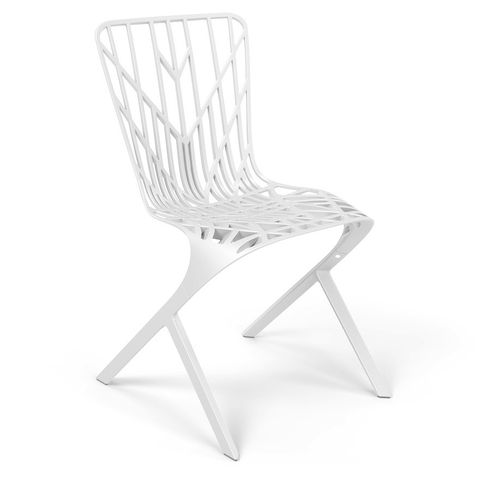 Knoll - Washington Skeleton™ Aluminum Side Chair - Lekker Home - 1