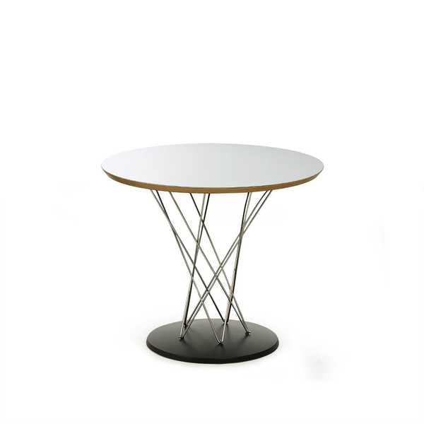"Knoll - Cyclone™ Side Table - White Laminate / 24"" - Lekker Home"