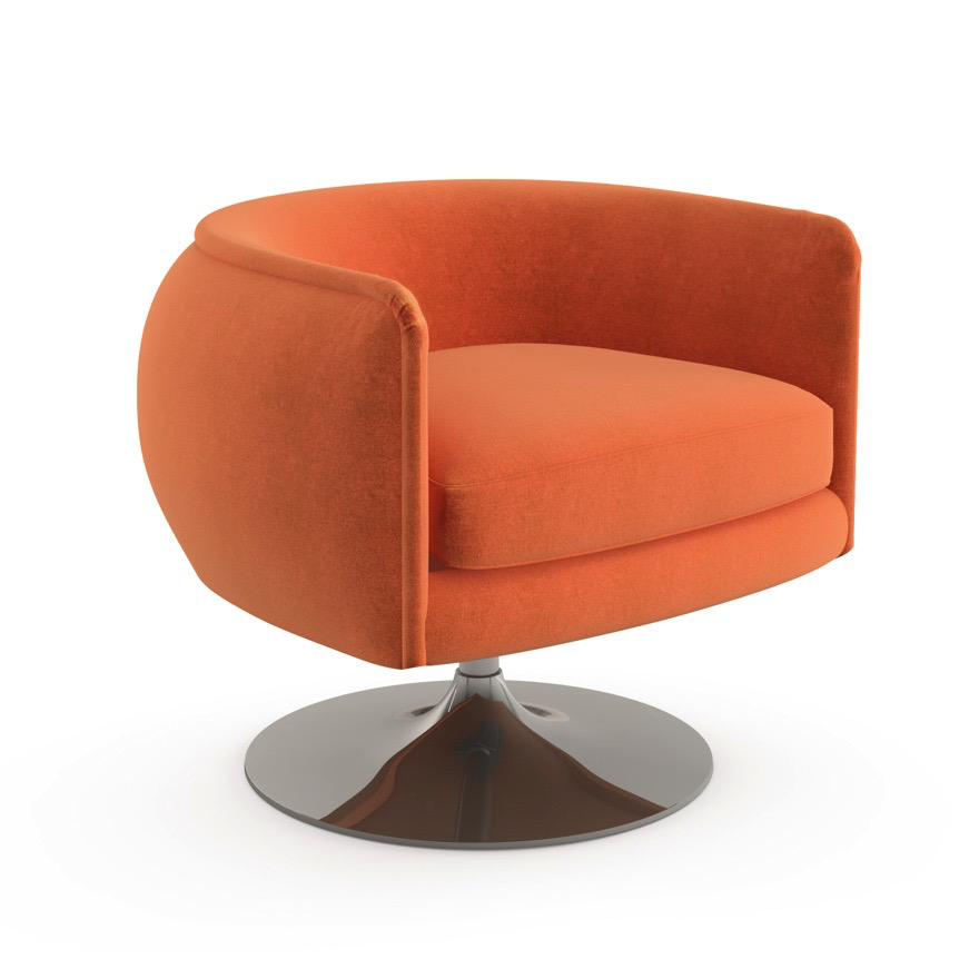 Knoll Home Design Shop: D'Urso Swivel Chair By Knoll