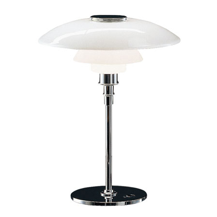 Louis Poulsen - PH 4½/3½ Table Lamp Glass - Lekker Home - 1
