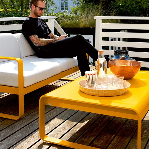 Fermob - Bellevie Coffee Table - Chili Red / One Size - Lekker Home