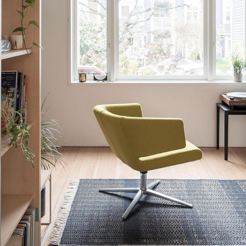 Bensen - Lotus Lounge Chair - Europost 2 60999 / Polished Base - Lekker Home