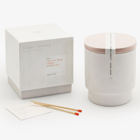 Night Space - Blush Warm Earth Candle - Default - Lekker Home