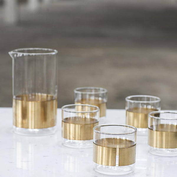 Copper Chemistry Glass By Serax Lekker Home