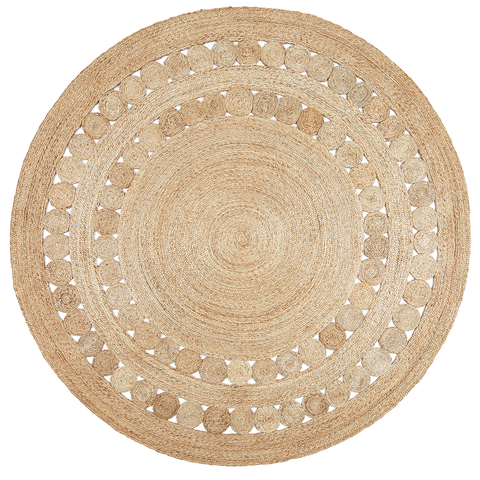Armadillo & Co - Dandelion Flower Weave Rug - Default - Lekker Home