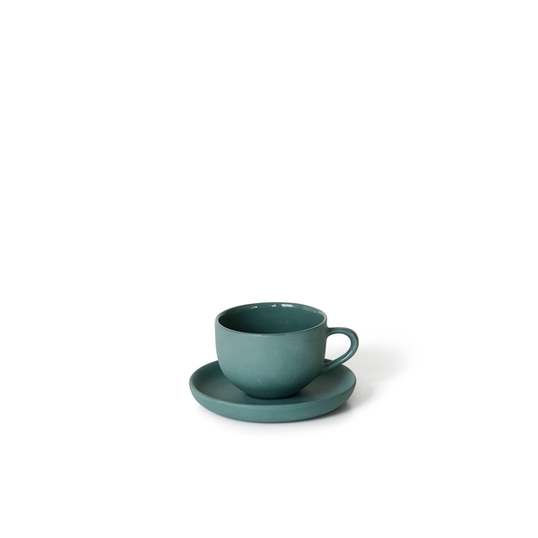 MUD Australia - MUD Round Espresso Cup and Saucer - Bottle / Espresso - Lekker Home