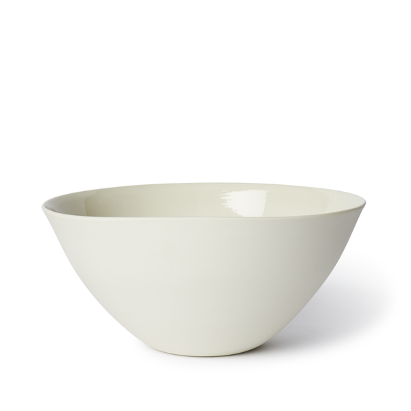 Large Flared Bowl | Milk | MUD Australia
