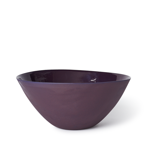 Large Flared Bowl | Plum | MUD Australia