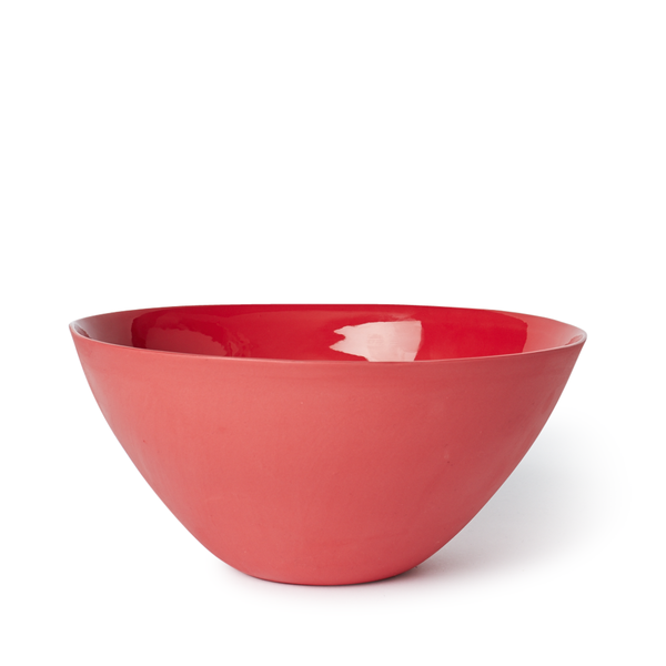 Large Flared Bowl | Red | MUD Australia