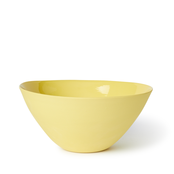 Large Flared Bowl | Yellow | MUD Australia