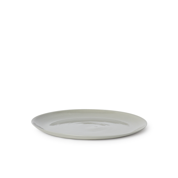 MUD Australia - MUD Flared Dinner Plate - Ash / One Size - Lekker Home