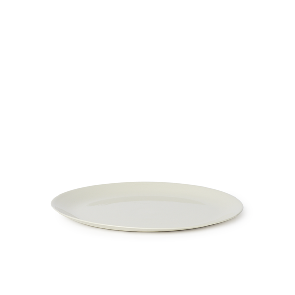 MUD Australia - MUD Flared Dinner Plate - Milk / One Size - Lekker Home