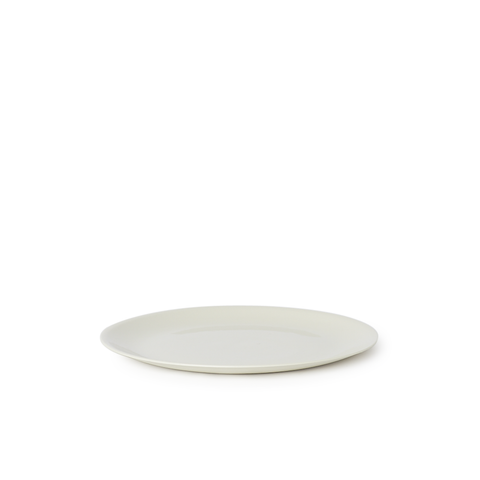 Flared Small Plate | Ash | MUD Australia