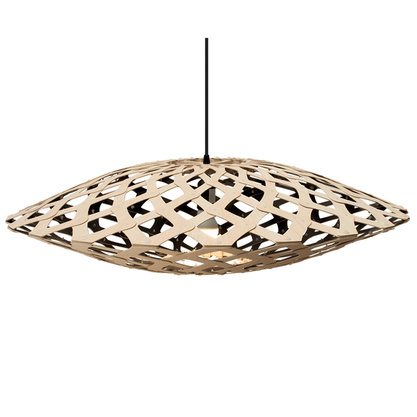 David Trubridge - Flax Pendant - Natural / Black / 800 - Lekker Home