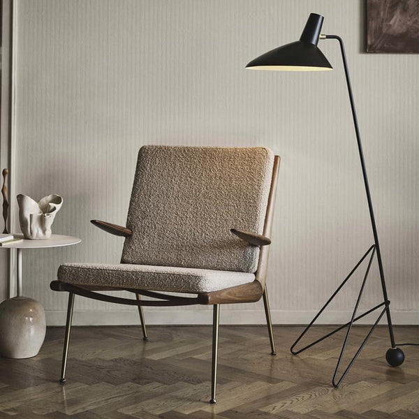 &Tradition - HM2 Boomerang Lounge Armchair - Lekker Home