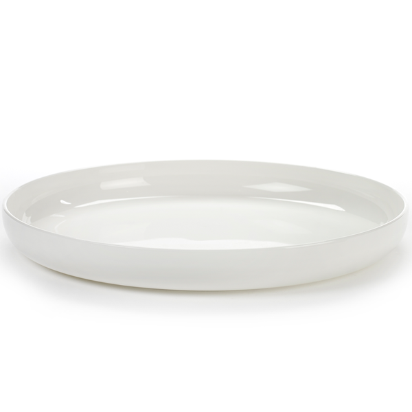 Serax - Base High Plate - Glazed White / Large - Lekker Home