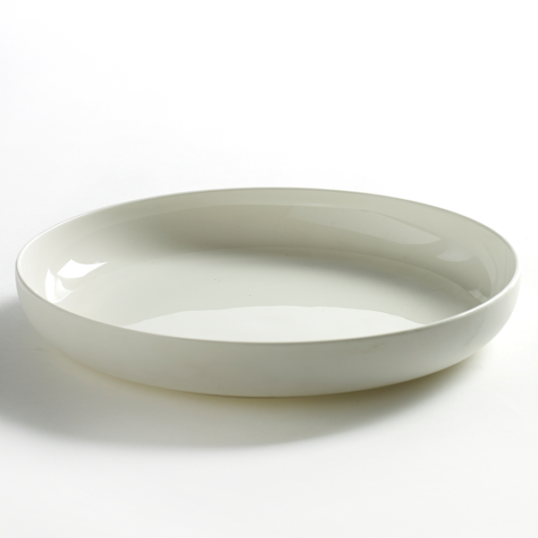 Serax - Base High Plate - Matte White / Medium - Lekker Home