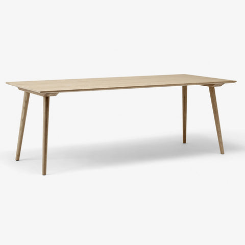 "&Tradition - In Between Table - Clear Lacquered Oak / 78"" - Lekker Home"