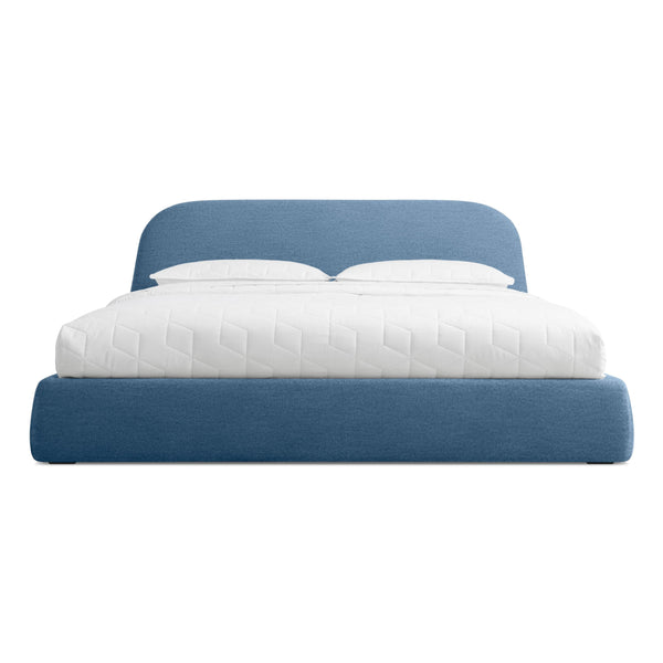Blu Dot - Lid Storage Bed - Thurmond Marine Blue / King - Lekker Home