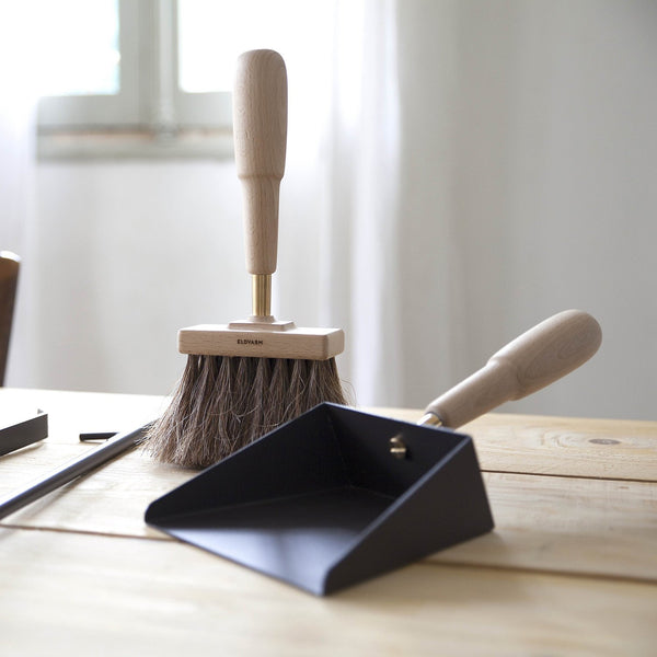 Eldvarm - Emma Fireside Shovel & Brush - Lekker Home - 2