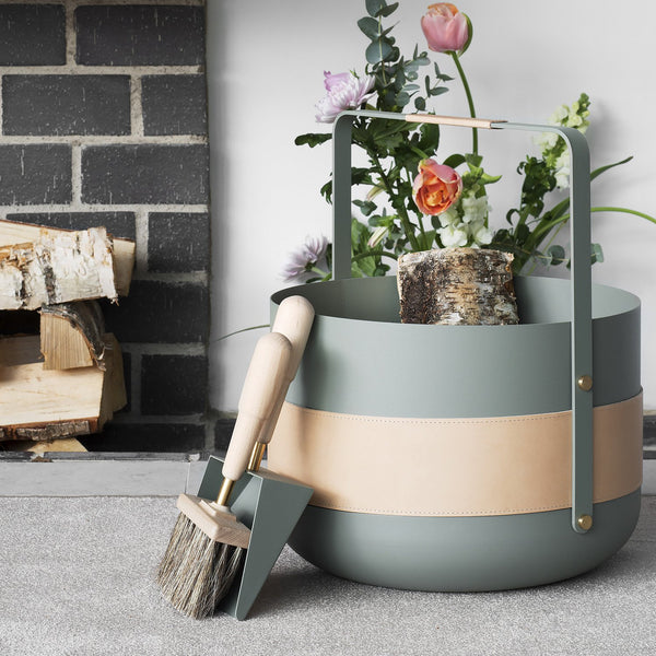 Eldvarm - Emma Fireside Shovel & Brush - Lekker Home - 3