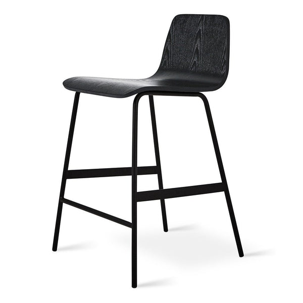 Gus Modern - Lecture Stool - Black Ash / Counter Height - Lekker Home