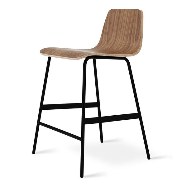 Gus Modern - Lecture Stool - Walnut / Counter Height - Lekker Home