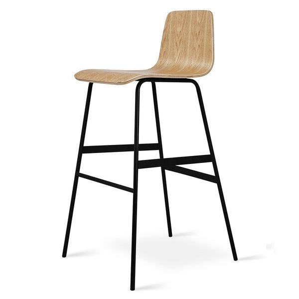 Gus Modern - Lecture Stool - Natural Ash / Bar Height - Lekker Home