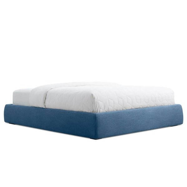 Blu Dot - Lid Storage Bed - Thurmond Marine Blue / Platform Full - Lekker Home