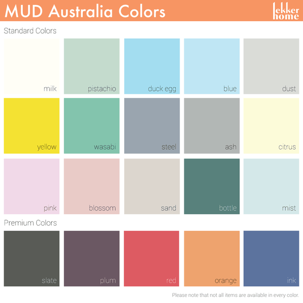 MUD Australia - MUD Flared Small Plate - - Lekker Home