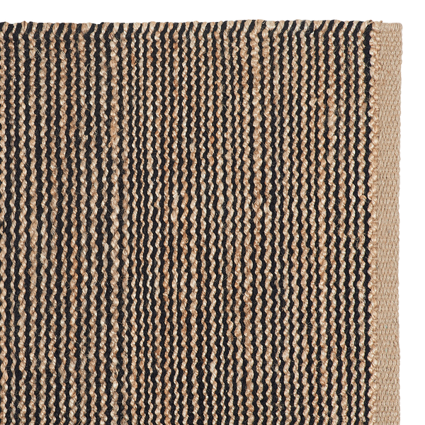 Drift Weave Rug | Natural & Black Detail | Armadillo & Co.