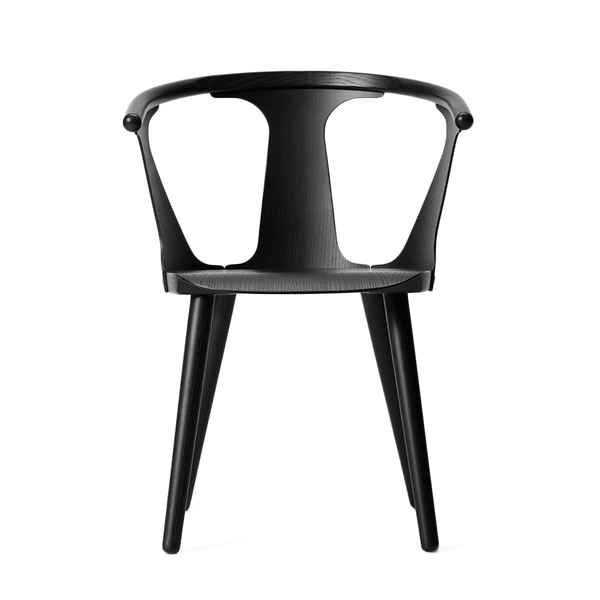 &Tradition - In Between Dining Chair - Black Lacquered Oak / No Upholstery - Lekker Home