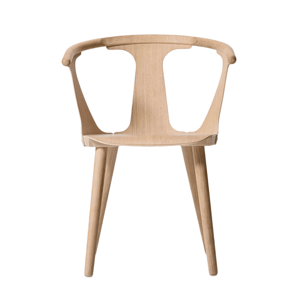 &Tradition - In Between Dining Chair - White Oiled Oak / No Upholstery - Lekker Home