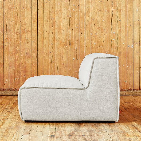 Gus Modern - Nexus Modular Armless Chair - Velvet Spruce / One Size - Lekker Home