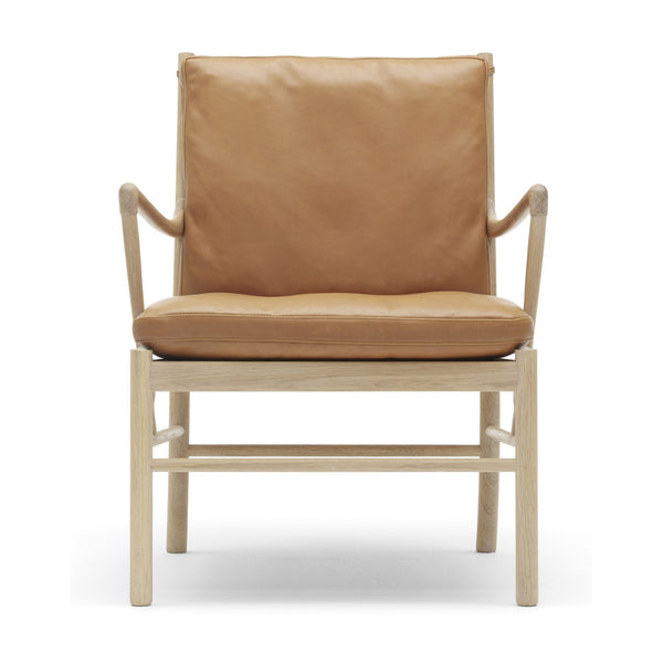 Carl Hansen - OW149 Colonial Chair - Starting Fabric / Soap Oak - Lekker Home
